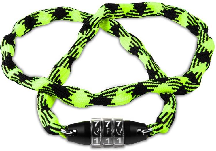 RFR Chain lock Style CMPT neon yellow n black