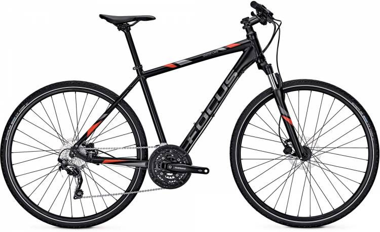 Focus Crater Lake Pro magic black/matt 2017 - Cross Bike Men