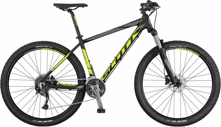 Scott Aspect 740 black/yellow/grey 2017