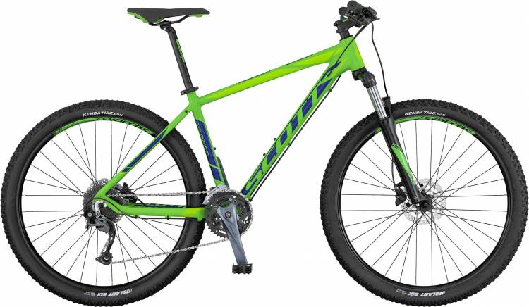 Scott Aspect 740 green/blue/lt green 2017