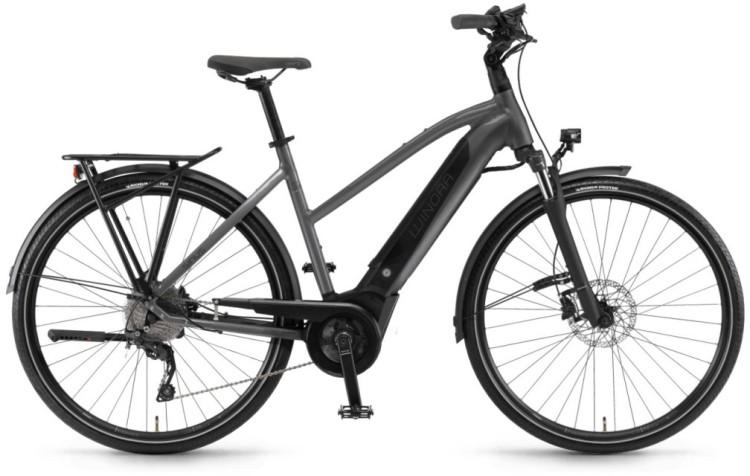 "Winora Sinus i9 500Wh 28"" titan 2020 - Touring E-Bike Women Trapezium"