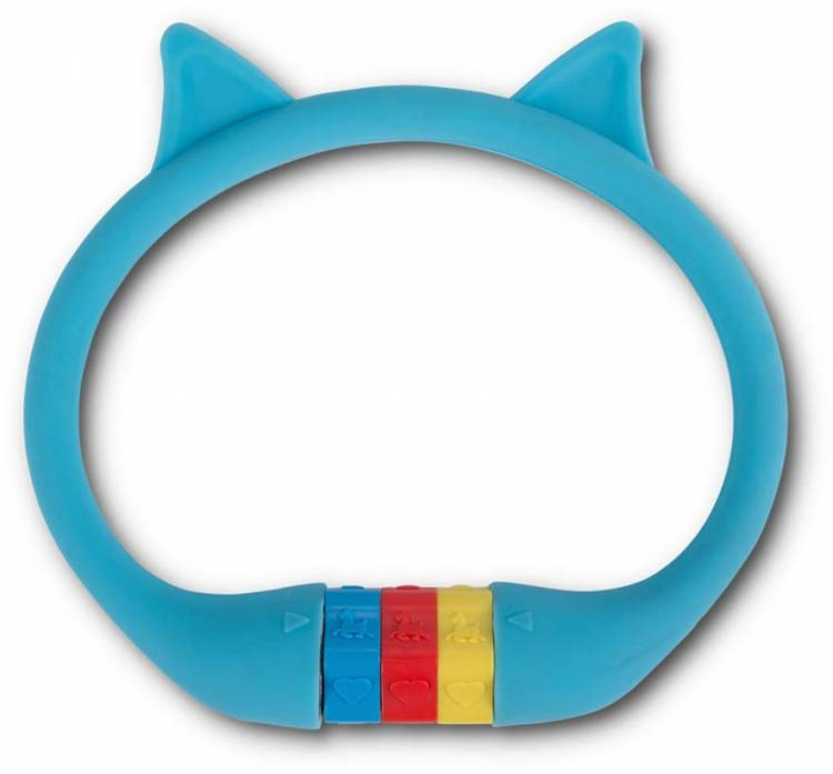 """RFR Number cable lock HPS """"CAT"""" 10 x 350 mm blue"""