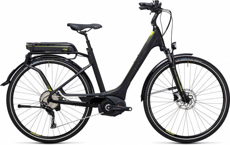 Cube Touring Hybrid EXC 400 black n lime Easy Entry 2017
