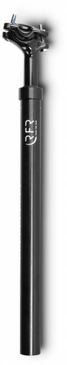 RFR suspension seat post (80 - 120 kg) black - 27.2 mm x 400 mm