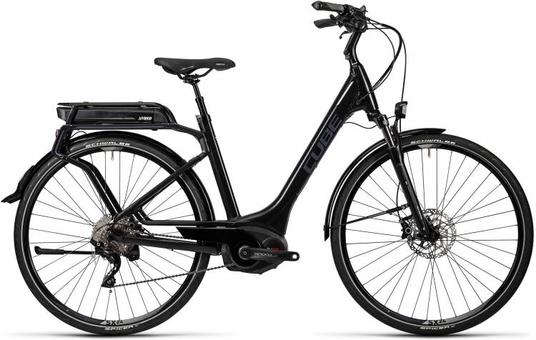 Cube Touring Hybrid Pro 500 black n grey Damen - Easy Entry 2016
