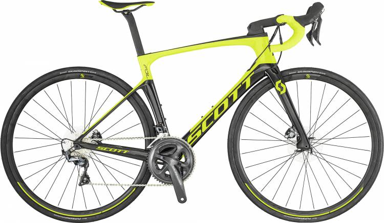 Scott Foil 20 Disc Yellow Black Buy Online Cheaply Mhw Bike Com