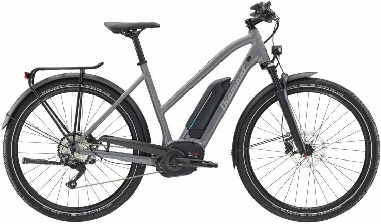 Diamant Elan Legere+ GOR Graphitgrau 2020 - Touring E-Bike Women