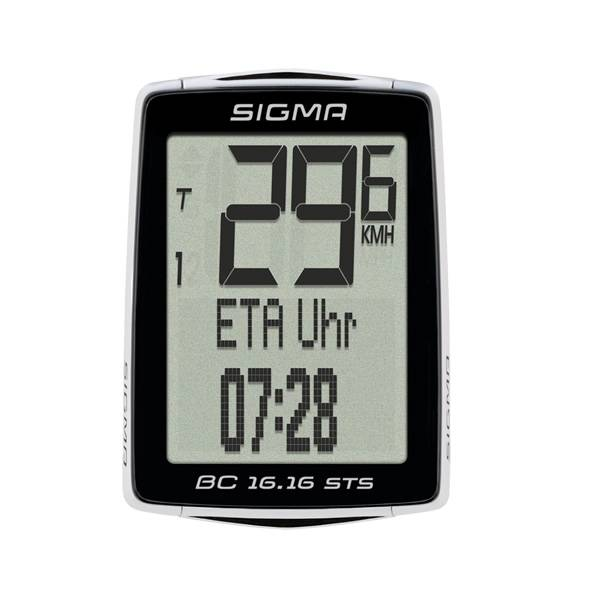 Sigma Bicycle Computer BC 16.16 STS black