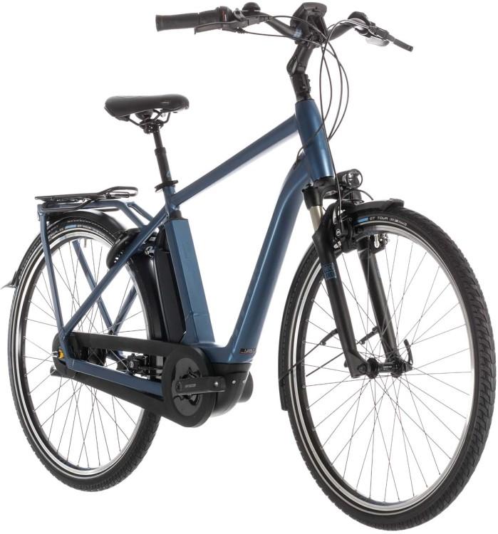 Cube Town Hybrid EXC 500 blue n blue - Men 2019