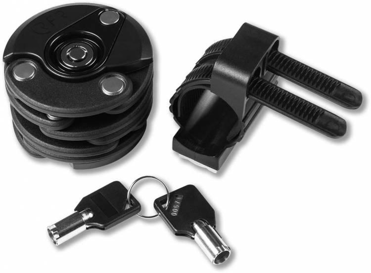 "RFR folding lock ""Circle"" PRO black`n glossy black"