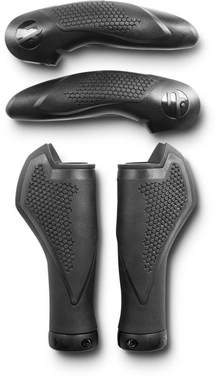 Natural Fit Grips COMFORT Bar Ends Large black