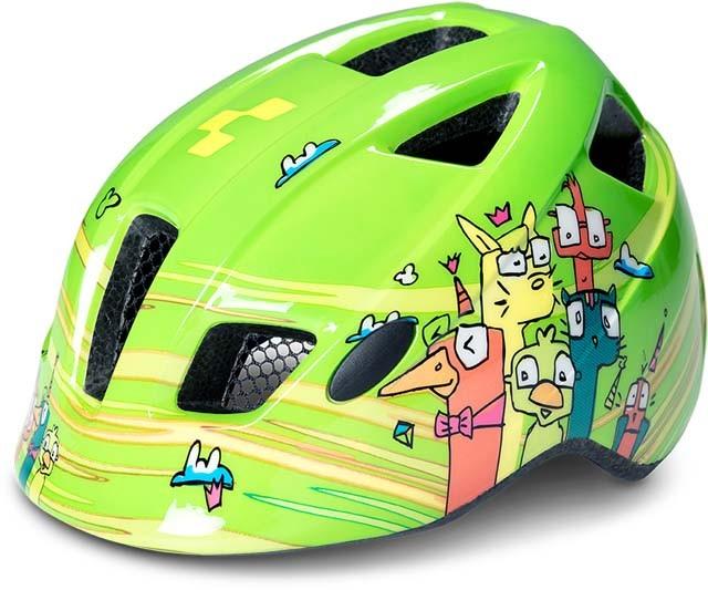 Cube Helm PEBBLE green friends