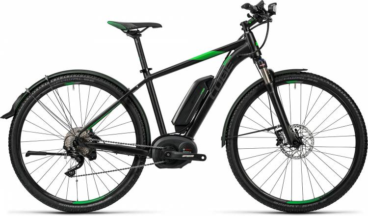 Cube Cross Hybrid Race Allroad 500 black n green 2016