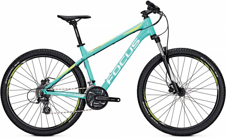 Focus Whistler Evo 27 medium türkis 2017 - Hardtail Mountainbike