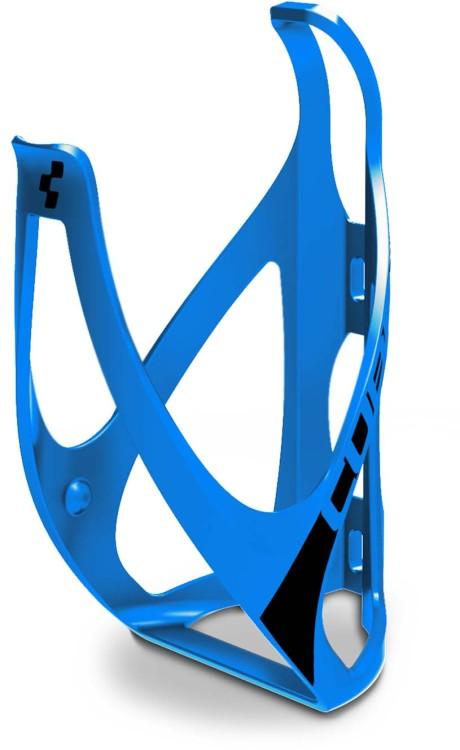 Cube bottle cage HPP matt classic blue n black