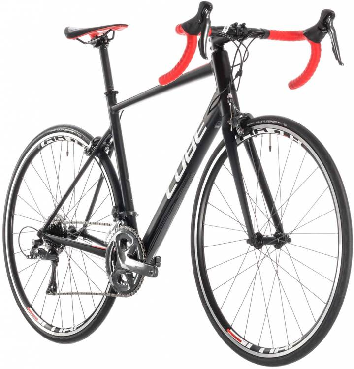 1ca3fe0720c Cube Attain black n red 2019 Race Bike ▷ buy online cheaply ▷ mhw ...