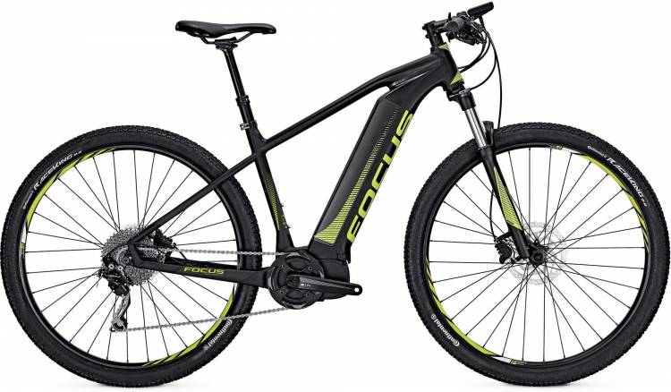 Focus Jarifa I29 black 2017 - E-Bike Hardtail Mountainbike