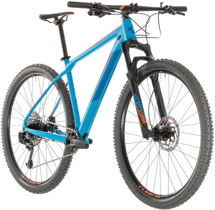 51b22913f09 Cube Reaction Race blue n orange 2019 Mountainbike Hardtail ▷ buy ...