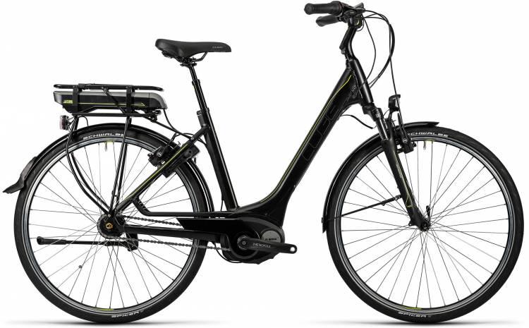 Cube Travel Hybrid RT 500 black n lime Damen - Easy Entry 2016