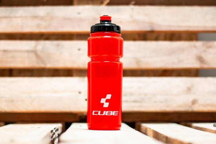 Cube drinking bottle 0,75l Icon red