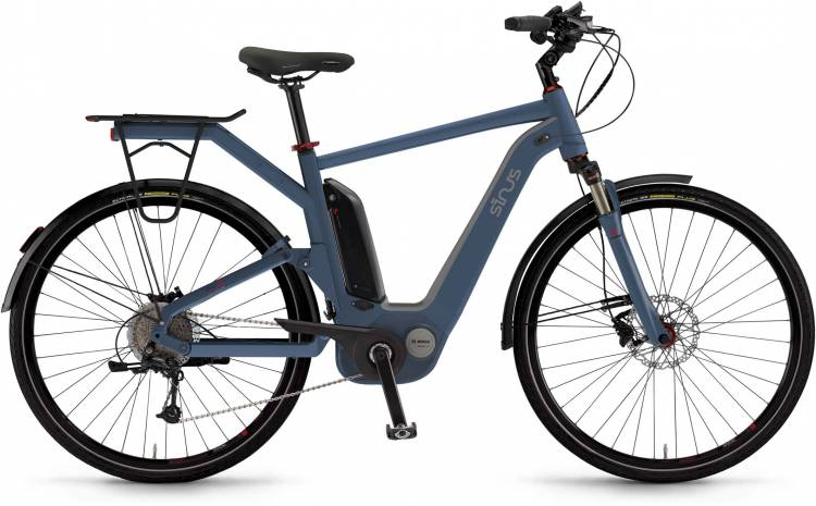 "Sinus Dyo9 500Wh 28"" oceanblue matt 2017 - Touring E-Bike Men"