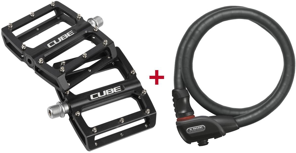 Cube Pedale All Mountain Abus Fahrradschloss Buy Online