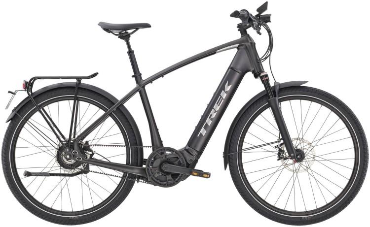 Trek Allant+ 9S Matte Dnister Black 45km/h 2020 - Touring E-Bike Men
