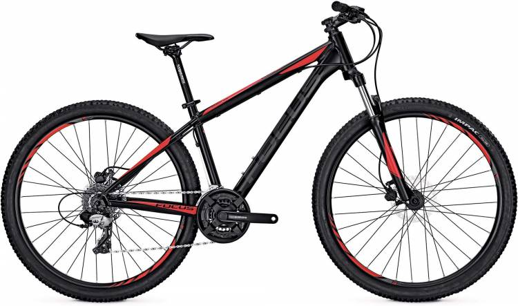 Focus Whistler Elite 27 magic black/matt 2017 - Hardtail Mountainbike