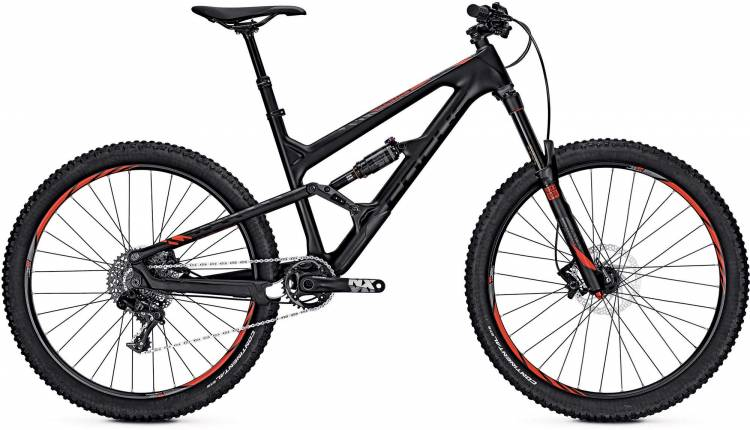 Focus Sam C SL 27 black/red 2017 - Fully Mountainbike