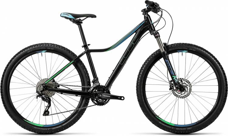 Cube Access WLS Race 27.5 / 29 black n green2016