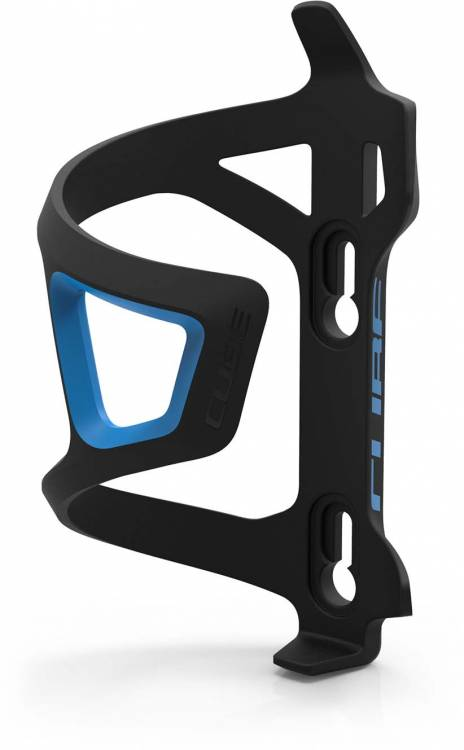 Cube bottle cage HPP Sidecage black n blue