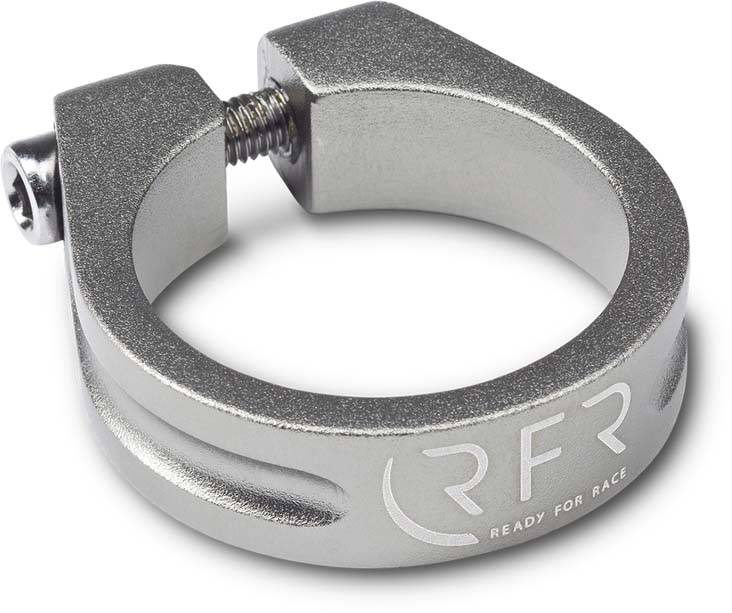RFR saddle clamp 34,9 mm grey