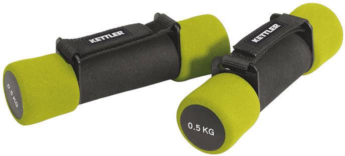 Kettler Aerobic Dumbbells 2 x 0,5 Kg Green