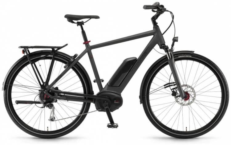 "Winora Tria 9 500Wh 28"" mysterypearl matt 2018 - Touring E-Bike Men"