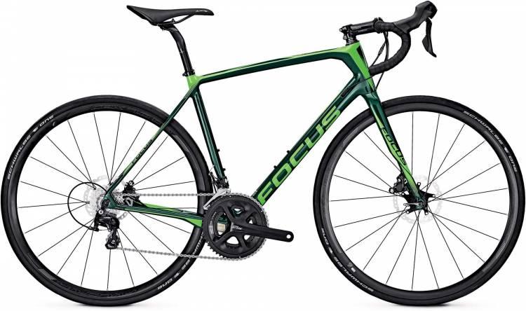 Focus Paralane 105 green/fl.green 2017 - Road Bike Carbon Men