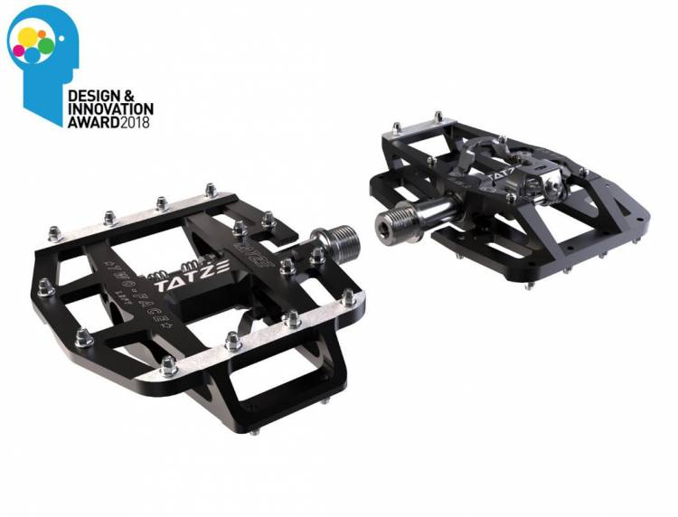TATZE TWO-FACE Pedals with Cr-Mo-Axis