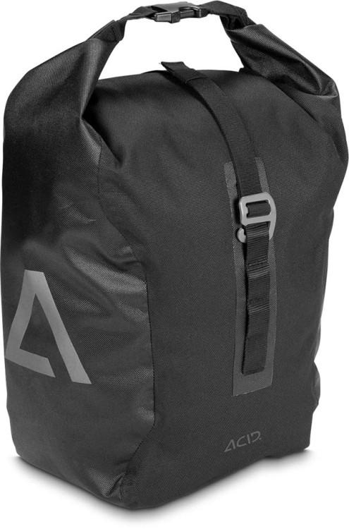 ACID bicycle bag TRAVLR 15 black