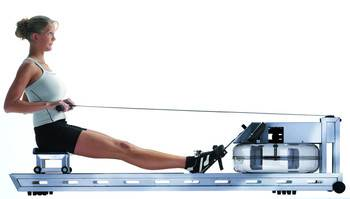 WaterRower S1 Stainless Steel incl monitor