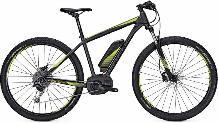 Focus Jarifa 29 grey 2017 - E-Bike Hardtail Mountainbike