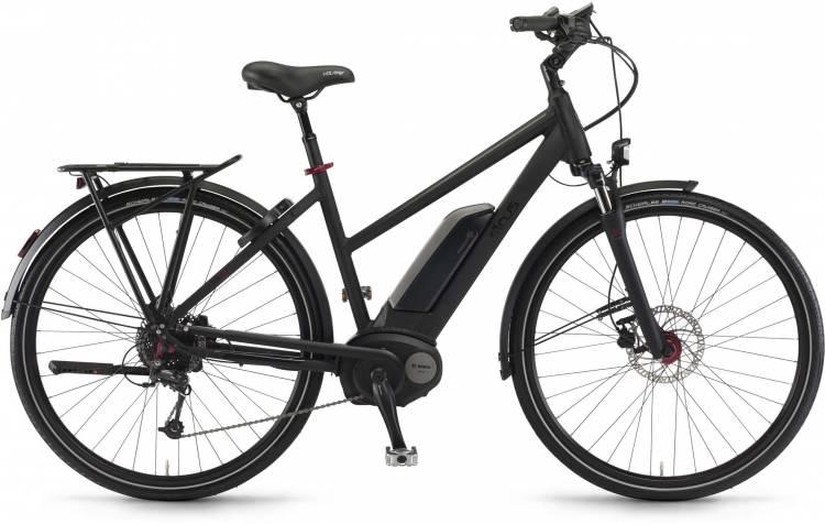 "Sinus Tria 9 500Wh 28"" schwarz matt 2017 - Touring E-Bike Women Trapezium"