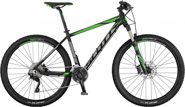 Scott Aspect 710 black/grey/green 2017