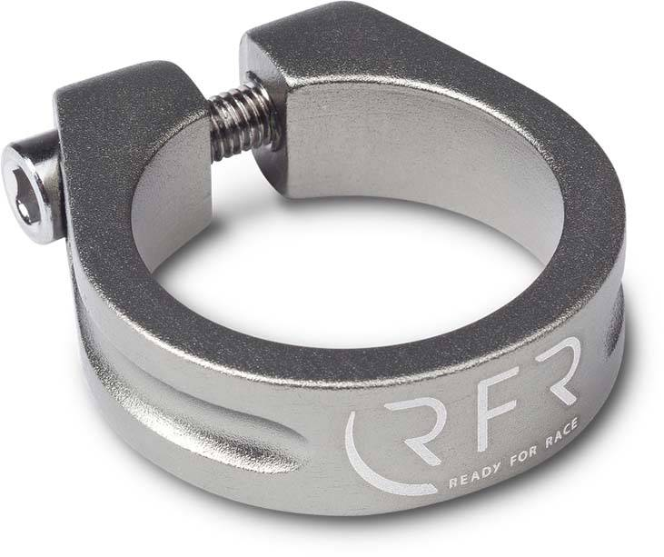 RFR saddle clamp 31,8 mm grey