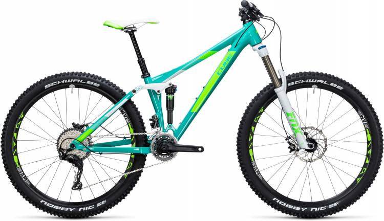Cube Sting WLS 140 Race 27.5 2x mint n green 2017 - Fully Mountainbike Women