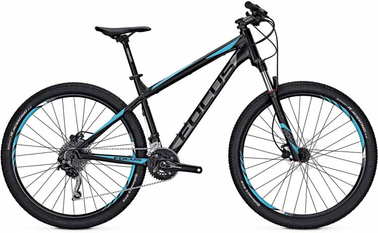 Focus Whistler Pro 27 magic black/matt 2017 - Hardtail Mountainbike