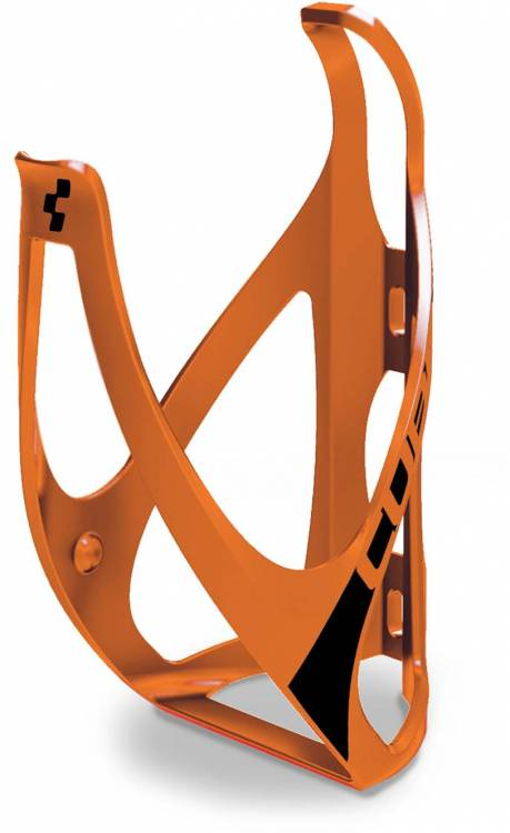 Cube bottle cage HPP matt orange n black