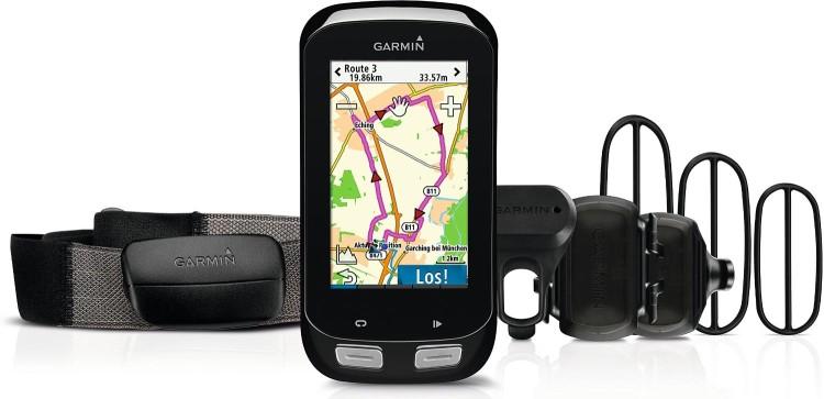 Garmin Edge® 1000 Bundle (incl. chest strap, speed and cadence sensor)