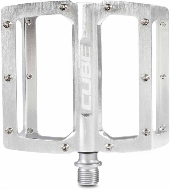 Cube Pedals ALL MOUNTAIN silver brushed