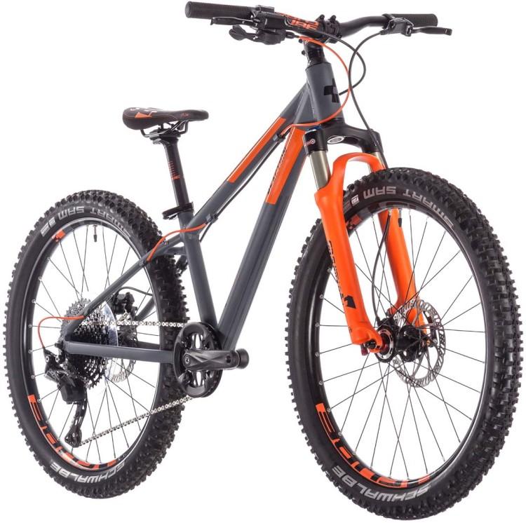 838cd421f60 Cube Reaction 240 TM black n orange 2019 Mountainbike Hardtail ...