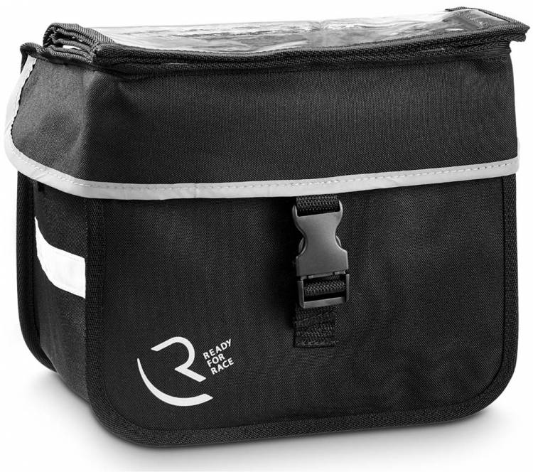 RFR handlebar basket bag Klick&Go black