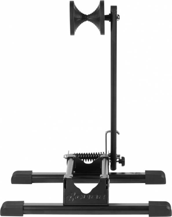 "Cube Display Stand Spring Arm 20"" - 29"" black"
